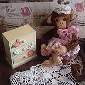 Куклы и игрушки handmade. Livemaster - original item monkey sonya. Handmade.
