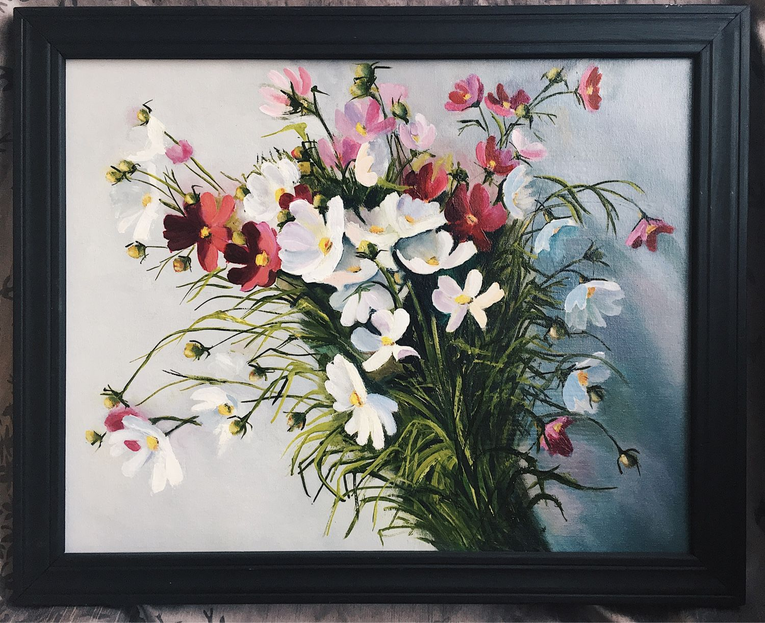 Painting with flowers. « Flowers ' 40h50, Pictures, Mytishchi,  Фото №1