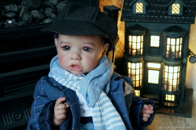Saskia мальчик.Кукла реборн Наталии Коноваловой, Куклы Reborn, Коломна,  Фото №1