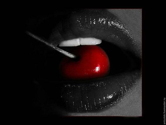 Серьги с красным кораллом Вкус вишни. Слободская Любовь. Ярмарка мастеров. Anluslob.