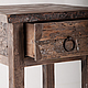 Мебель ручной работы. Кофейный стол в винтажном стиле. WoodBro. Ярмарка Мастеров. Старое дерево, стол из дерева, массив дерева
