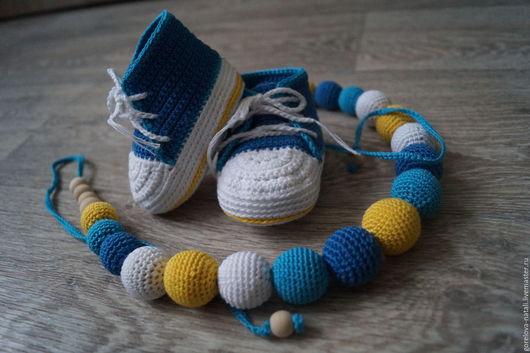 Пинетки+Слингобусы, идеальный вариант подарка для малыша. Комплект может состоять из разных деталей, это обговаривается с мастером.