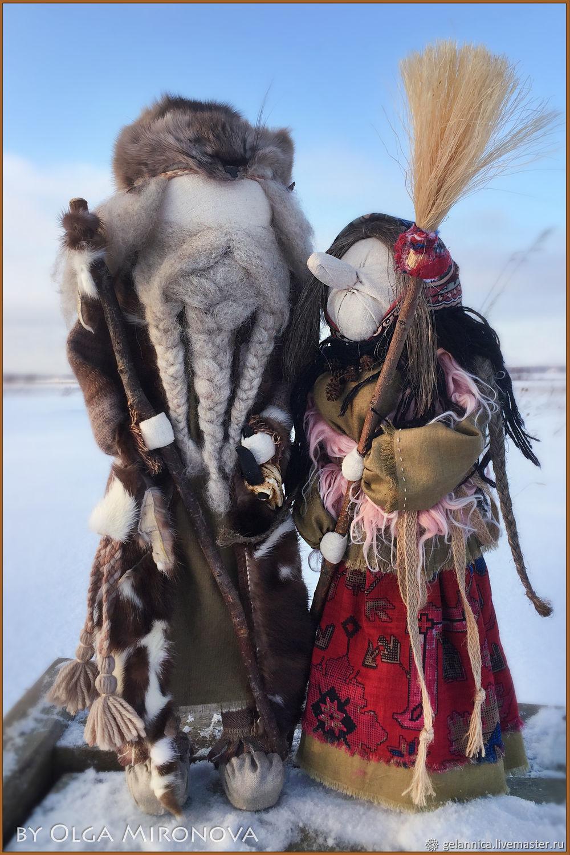 Велес и Баба Яга, Статуэтки в русском стиле, Санкт-Петербург,  Фото №1