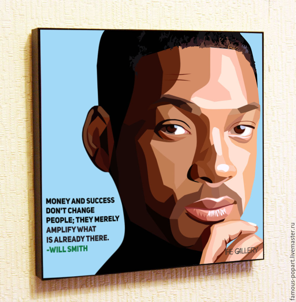 The picture poster will Smith Pop Art, Fine art photographs, Moscow,  Фото №1