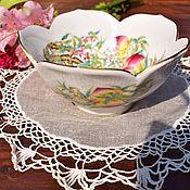 Винтаж handmade. Livemaster - original item SAJI.Exquisite bowl for sweets. Japan.. Handmade.