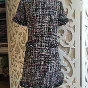 Одежда ручной работы. Ярмарка Мастеров - ручная работа Платье в стиле Chanel. Handmade.