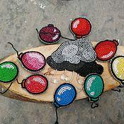 Украшения ручной работы. Ярмарка Мастеров - ручная работа Брошь Туча. Handmade.