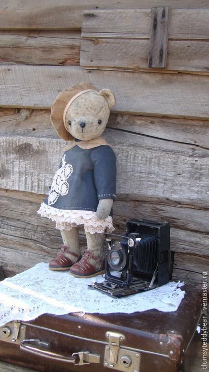 """Куклы и игрушки ручной работы. Ярмарка Мастеров - ручная работа. Купить Выкройка """" Большая Миша"""" + одежда!. Handmade."""