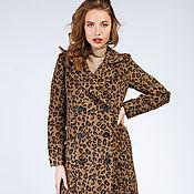 Одежда handmade. Livemaster - original item Leopard Coat. Handmade.