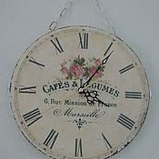 Для дома и интерьера ручной работы. Ярмарка Мастеров - ручная работа Часы  в стиле шебби шик. Handmade.