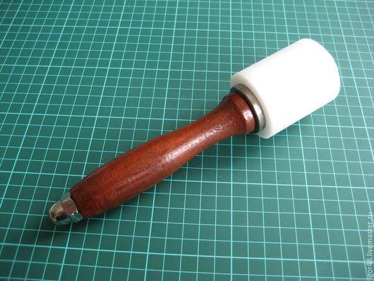 Другие виды рукоделия ручной работы. Ярмарка Мастеров - ручная работа. Купить Молоток полимерный для работы с кожей. Handmade. Молоток