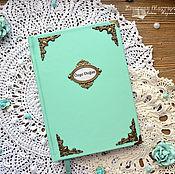 Канцелярские товары handmade. Livemaster - original item Personal diary. Record book.. Handmade.