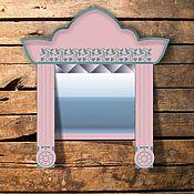 Для дома и интерьера ручной работы. Ярмарка Мастеров - ручная работа Зеркало Русский стиль. Handmade.