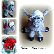 """Работы для детей, ручной работы. Ярмарка Мастеров - ручная работа Сумка """"Маленькая овечка"""". Handmade."""