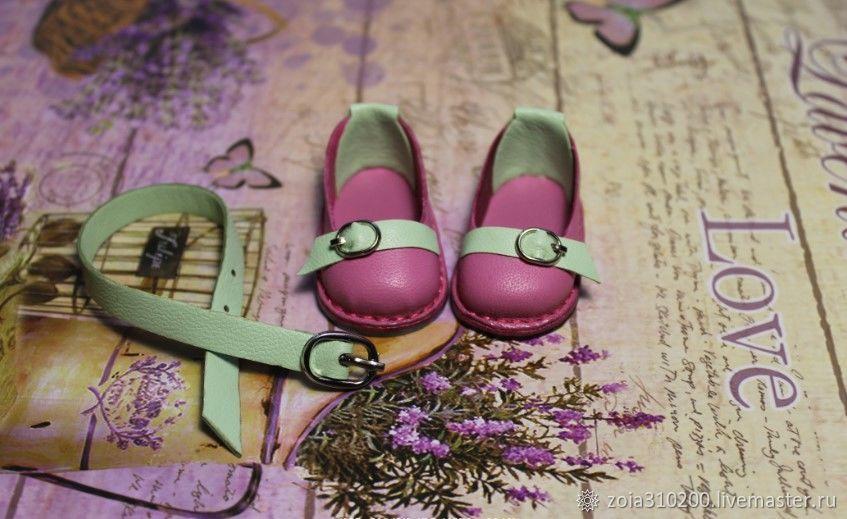 В НАЛИЧИИ.Туфельки и ремешок для кукол Паола Рейна, Туфли, Пермь, Фото №1