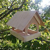 """Для домашних животных, ручной работы. Ярмарка Мастеров - ручная работа Кормушка для птиц """"Уютная-ЭКО"""". Handmade."""