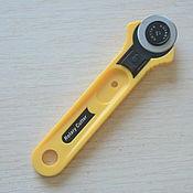 Фурнитура для шитья ручной работы. Ярмарка Мастеров - ручная работа Нож дисковый для раскроя 28мм. Handmade.
