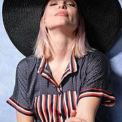 Блузки ручной работы. Ярмарка Мастеров - ручная работа 370-5 блуза 46. Handmade.