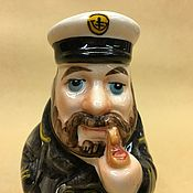 handmade. Livemaster - original item Boatswain porcelain figurine. Handmade.