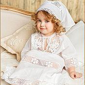 Работы для детей, ручной работы. Ярмарка Мастеров - ручная работа Крестильное платье Мария. Handmade.