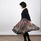 Одежда ручной работы. Ярмарка Мастеров - ручная работа Платье из павловопосадского платка. Handmade.