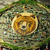 """""""Медведь"""" тотемный ловец снов"""