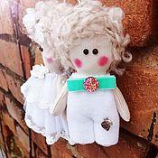 Куклы Тильда ручной работы. Ярмарка Мастеров - ручная работа Ангел-мальчик. Handmade.