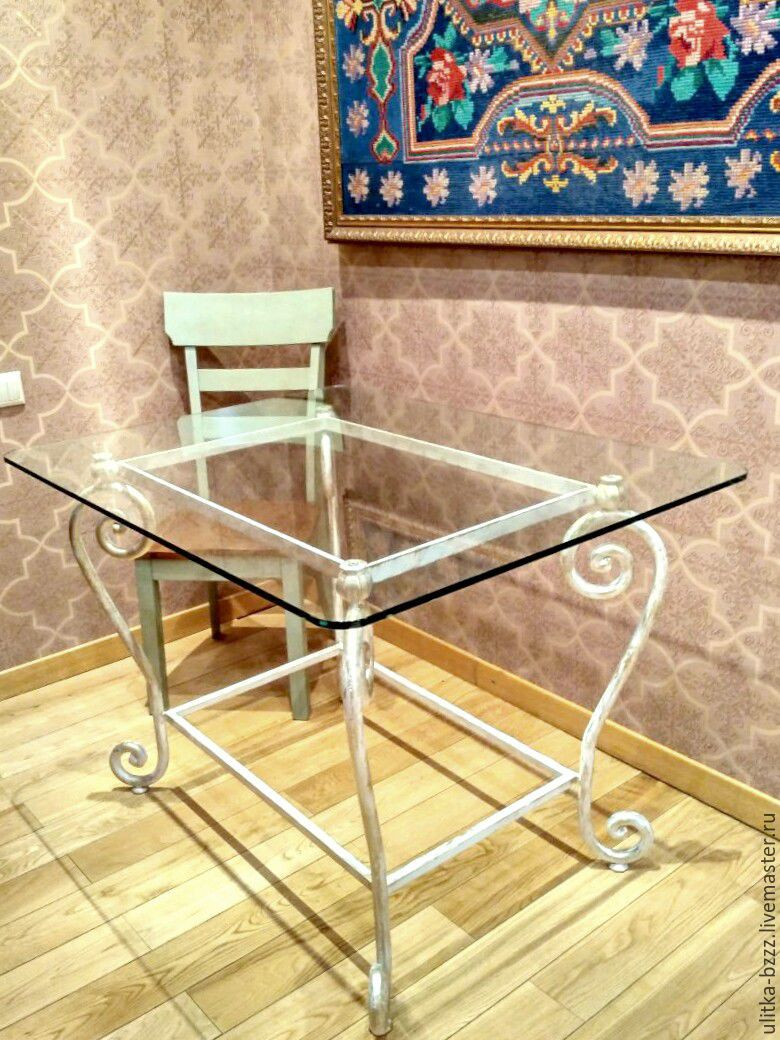 Forged table 'Versailles', Tables, Moscow,  Фото №1