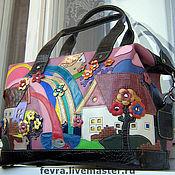 Сумки и аксессуары handmade. Livemaster - original item Bag Rainbow.. Handmade.