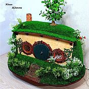 Кукольные домики ручной работы. Ярмарка Мастеров - ручная работа Домик хоббита. Handmade.