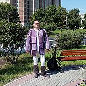 Одежда handmade. Livemaster - original item Coats lilac