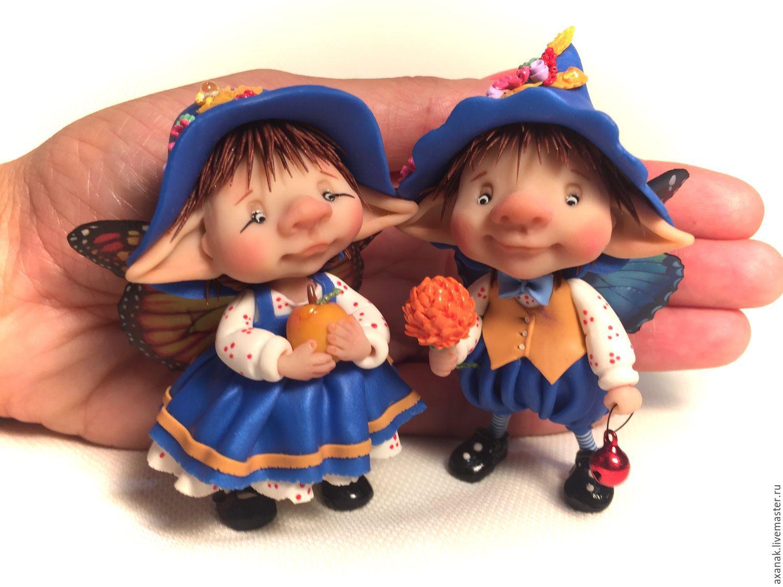 Куклы эльфы своими руками из глины фото 324