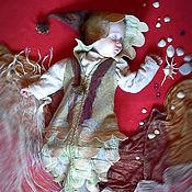 """Работы для детей, ручной работы. Ярмарка Мастеров - ручная работа Комбинезон-кокон для новорожденного """"Русалка2"""". Handmade."""