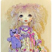 Куклы и игрушки ручной работы. Ярмарка Мастеров - ручная работа авторская кукла Милые глазки. Handmade.