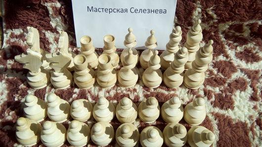 Настольные игры ручной работы. Ярмарка Мастеров - ручная работа. Купить Деревянные шахматы + шашки. Handmade. Белый