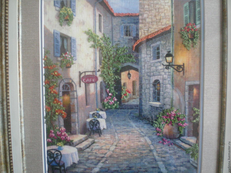 Итальянский дворик вышивка купить