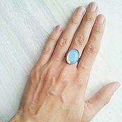 Украшения ручной работы. Ярмарка Мастеров - ручная работа Кольцо с лунным камнем. Handmade.
