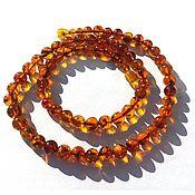Beads2 handmade. Livemaster - original item Beads of amber