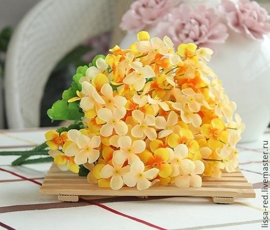 Другие виды рукоделия ручной работы. Ярмарка Мастеров - ручная работа. Купить Цветы РОМАШКИ из ткани  в букете мелкие 2 В НАЛИЧИИ. Handmade.