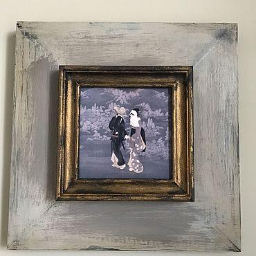 Картины и панно ручной работы. Ярмарка Мастеров - ручная работа Беседа. Handmade.