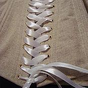 Одежда ручной работы. Ярмарка Мастеров - ручная работа Корсет бельевой. Handmade.