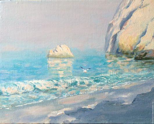 Картина маслом Утро Купить картину маслом Картина маслом морской пейзаж МАСЛО ХОЛСТ