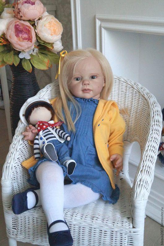 Куклы-младенцы и reborn ручной работы. Ярмарка Мастеров - ручная работа. Купить Луиза. Handmade. Васильковый, генезис