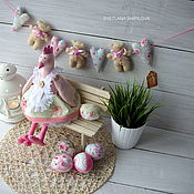 Куклы и игрушки ручной работы. Ярмарка Мастеров - ручная работа Курочка в стиле шебби-шик. Handmade.