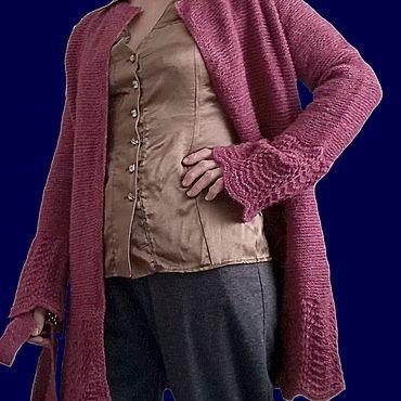 "Одежда ручной работы. Ярмарка Мастеров - ручная работа Кардиганы: ""RASPBERRY FRESH"". Handmade."