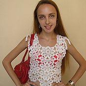 Одежда ручной работы. Ярмарка Мастеров - ручная работа Белая фантазия на девушку. Handmade.