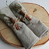 Для дома и интерьера ручной работы. Ярмарка Мастеров - ручная работа Подарочный набор полотенец из льна.. Handmade.