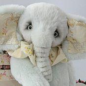Куклы и игрушки ручной работы. Ярмарка Мастеров - ручная работа Элли тедди слон. Handmade.