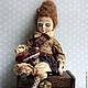 Коллекционные куклы ручной работы. Кукла Иветта. Маргушева Ирина (miren). Интернет-магазин Ярмарка Мастеров. Коллекционная кукла, ретро