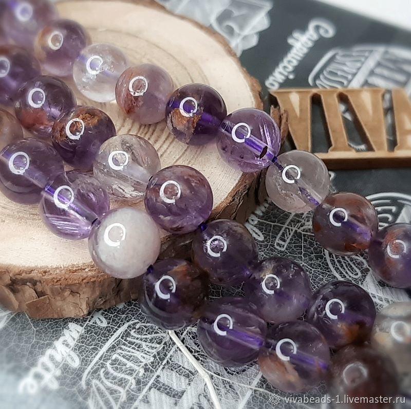 Melodite (quartz seven melodies) 8 mm smooth bead (4186-8), Beads1, Voronezh,  Фото №1